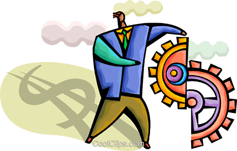 Financial Concepts Royalty Free Vector Clip Art illustration vc094317
