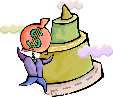 Financial Concepts Royalty Free Vector Clip Art illustration vc094318
