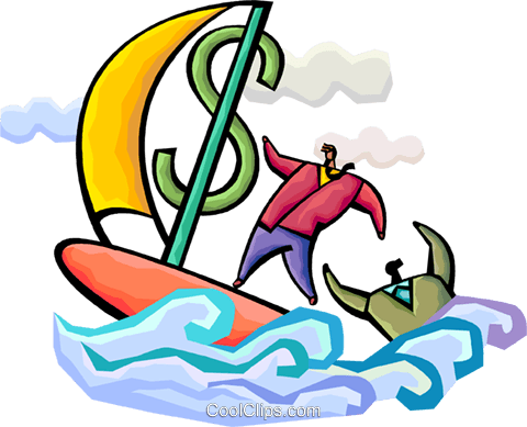 Financial Concepts Royalty Free Vector Clip Art illustration vc094321