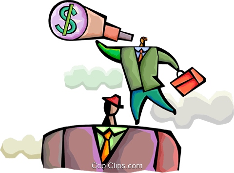 Financial Concepts Royalty Free Vector Clip Art illustration vc094327