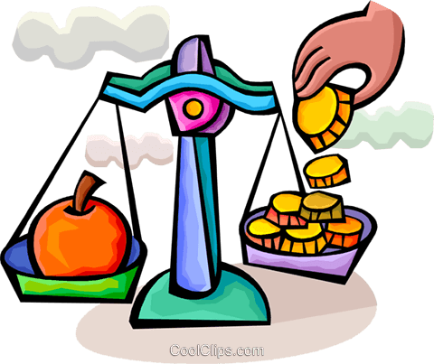Scales Royalty Free Vector Clip Art illustration vc094341