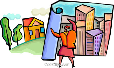 Architects and Designers Royalty Free Vector Clip Art illustration vc094354