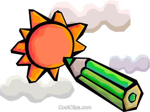 The Sun Royalty Free Vector Clip Art illustration vc094373