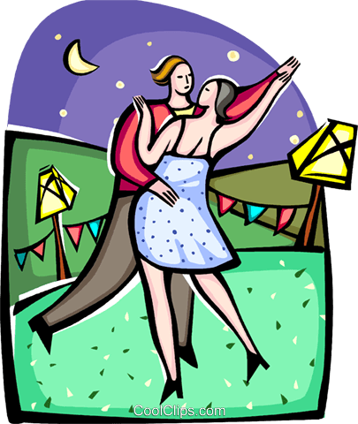Ballroom Royalty Free Vector Clip Art illustration vc094411