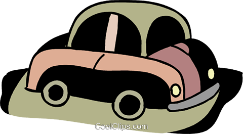 Family car Royalty Free Vector Clip Art illustration vc094563