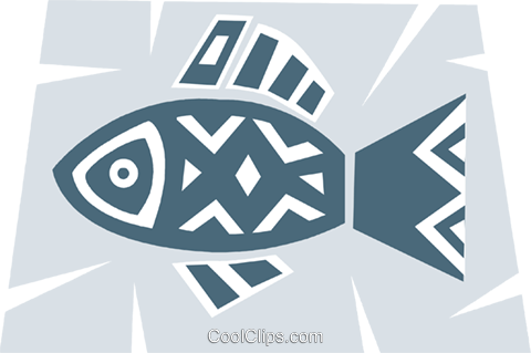 Miscellaneous Fish Royalty Free Vector Clip Art illustration vc094690