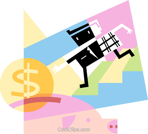 Financial Concepts Royalty Free Vector Clip Art illustration vc096247