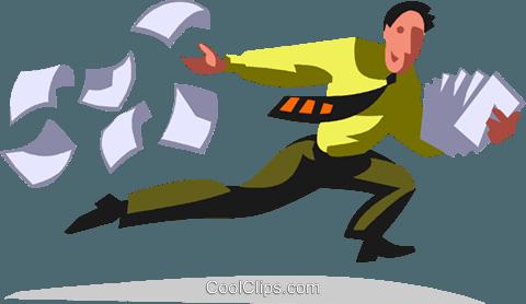 小鱼纸工粘贴画-作 免版税矢量剪贴画插图