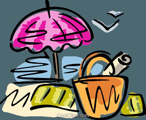2017 Sonnenschirm Strand Clipart