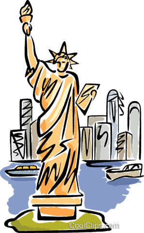 Statue of Liberty Royalty Free Vector Clip Art ...
