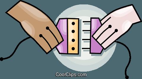 Computer-Kabel Vektor Clipart Bild -vc099491-CoolCLIPS.com