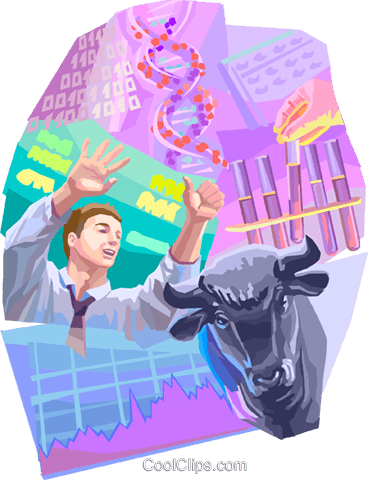 Investment and Stock Market Royalty Free Vector Clip Art illustration vc099701