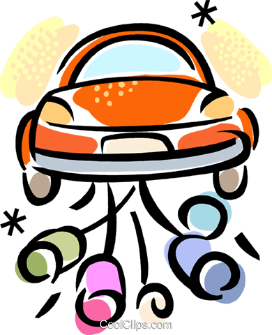 Just Married Vektor Clipart Bild vc099960