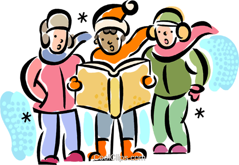 christmas carollers carolers royalty free vector clip art rh search coolclips com christmas carolers clipart free christmas carolers clip art free