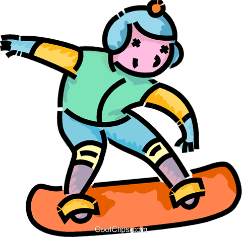Boy Snowboarding Royalty Free Vector Clip Art Illustration Vc101111 Coolclips Com