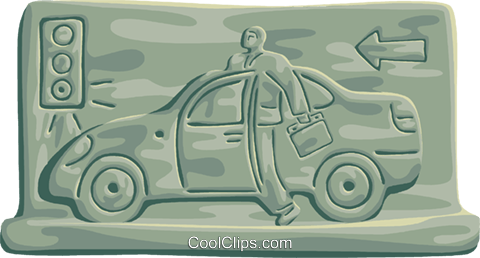 Family Cars Royalty Free Vector Clip Art illustration vc101242