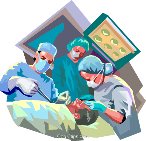 doctors in surgery royalty free vector clip art illustration rh search coolclips com knee surgery clipart surgery clipart