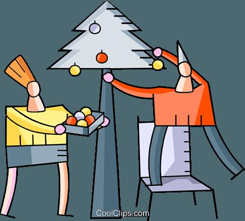 Christmas Scenes Royalty Free Vector