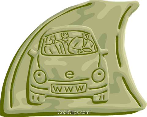 Information Highway Royalty Free Vector Clip Art illustration vc103244