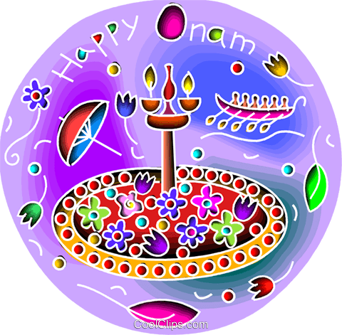 New Year's Day Vektor Clipart Bild vc103414