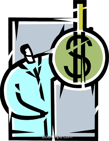 Financial Concepts Royalty Free Vector Clip Art illustration vc103597