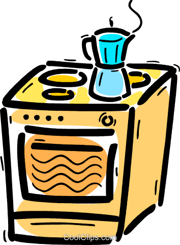 Electric Ovens Royalty Free Vector Clip Art illustration vc103664