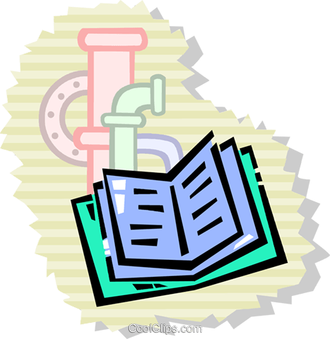 Books and Records Royalty Free Vector Clip Art illustration vc104188