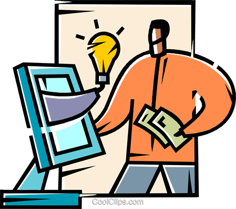 Idea Concepts Royalty Free Vector Clip Art illustration vc104788