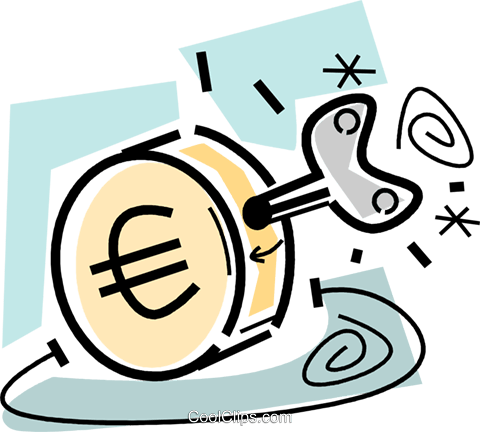 Financial Concepts Royalty Free Vector Clip Art illustration vc105598