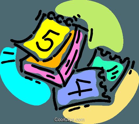 Calendario Clipart.Calendar Royalty Free Vector Clip Art Illustration Vc105625