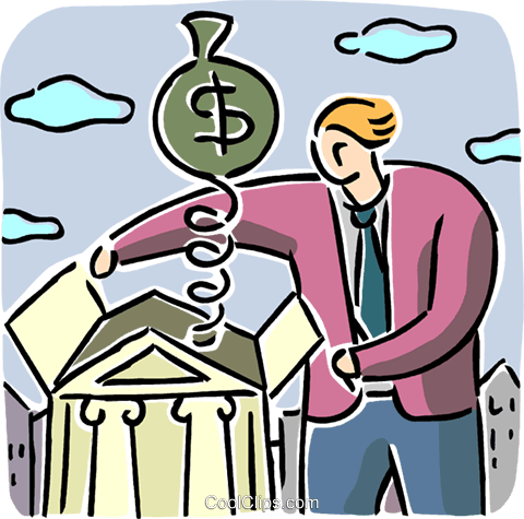 Financial Concepts Royalty Free Vector Clip Art illustration vc105776