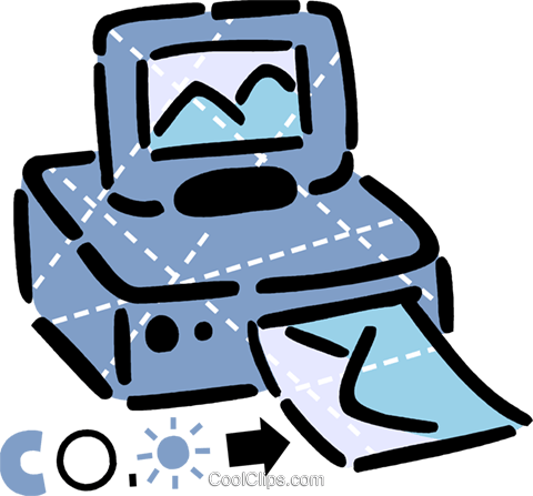 Computer Desktop Systems Royalty Free Vector Clip Art illustration vc105939