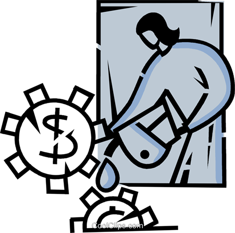 Financial Concepts Royalty Free Vector Clip Art illustration vc106127