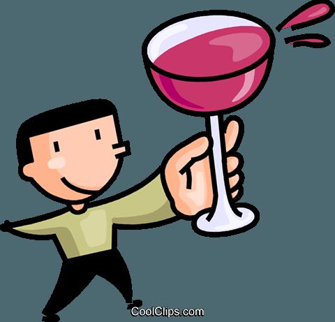 bicchiere da vino immagini grafiche vettoriali clipart  -food0386-CoolCLIPS.com