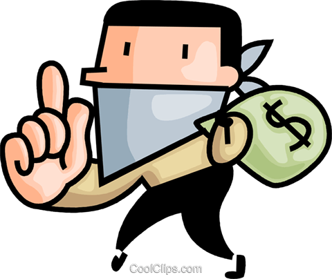 bank robber royalty free vector clip art illustration vc106732 rh search coolclips com robbery clip art robber clipart black and white