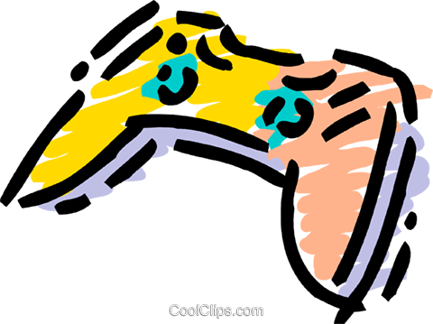 Video Game Consoles Royalty Free Vector Clip Art illustration vc106753