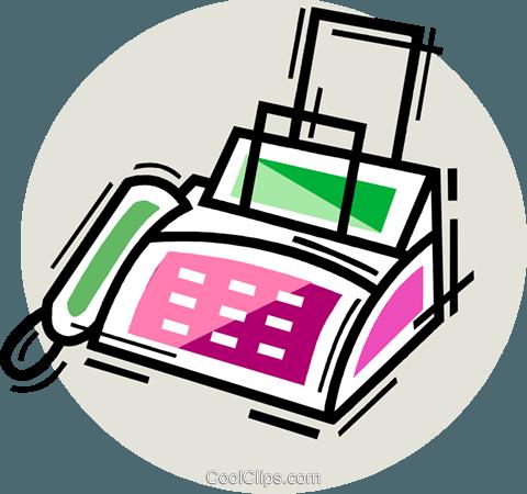 fax machine clip
