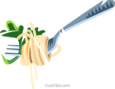 Spaghetti Fork Stock Illustrations  1567 Spaghetti Fork