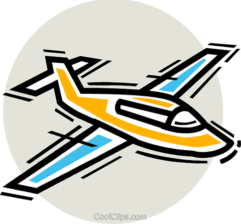 Lear Jets Royalty Free Vector Clip Art illustration vc107341