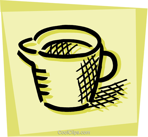 Messbecher clipart  Messbecher Vektor Clipart Bild -vc107464-CoolCLIPS.com
