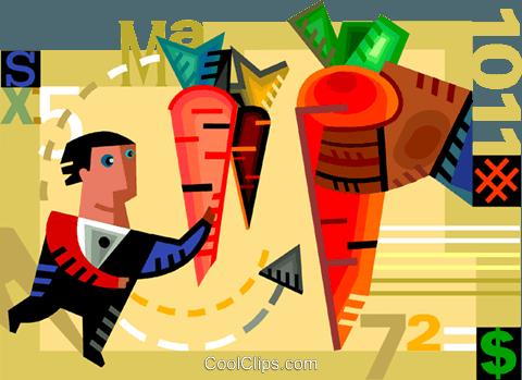 奖励 免版税矢量剪贴画插图