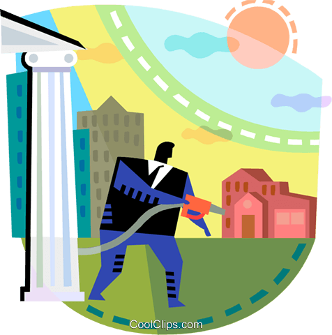 Financial Concepts Royalty Free Vector Clip Art illustration vc108207