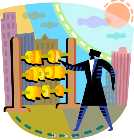 Financial Concepts Royalty Free Vector Clip Art illustration vc108226