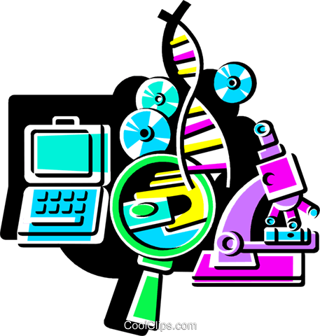 Medical Research Royalty Free Vector Clip Art illustration vc108535