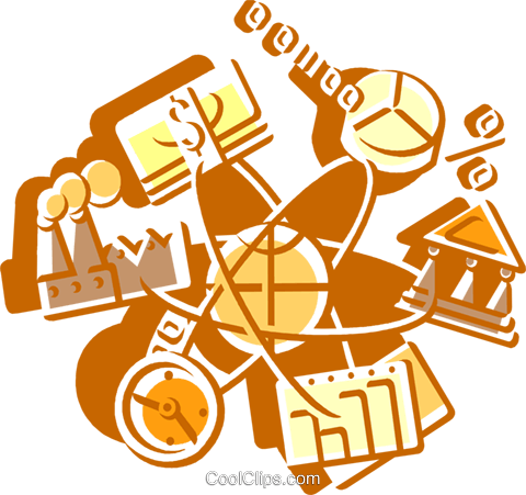 Financial Concepts Royalty Free Vector Clip Art illustration vc108540