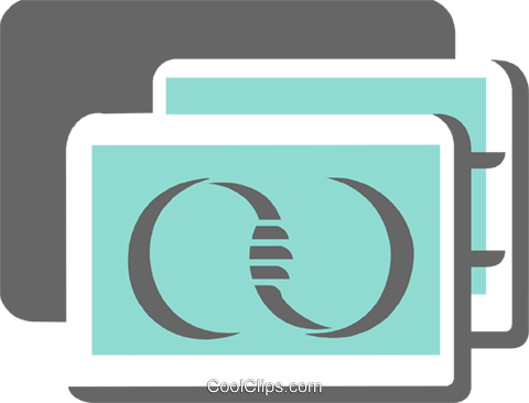Credit Cards Royalty Free Vector Clip Art illustration vc108621