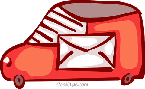 Courier Clipart