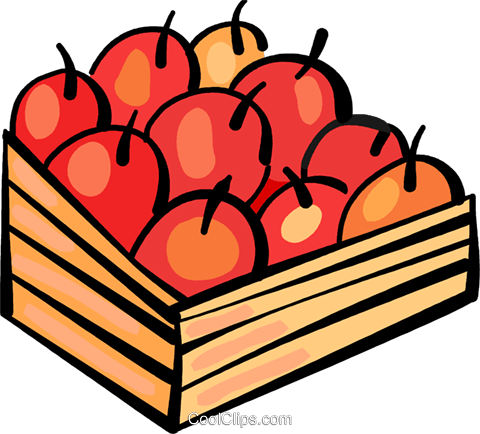 Apples Royalty Free Vector Clip Art illustration vc108887