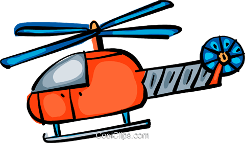 Helicopters Royalty Free Vector Clip Art illustration vc108894
