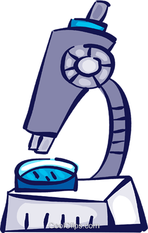 Microscopes Royalty Free Vector Clip Art illustration vc109045